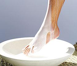 Banho relaxante para os pés - foto:Getty