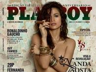 Capas da Playboy – Nanda Costa edição de Agosto