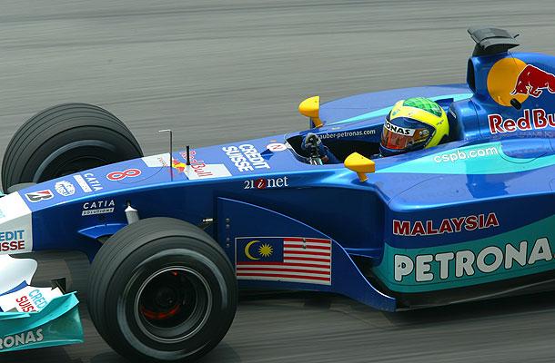 Equipe Sauber de Formula 1 de 2002 by terra.com.br