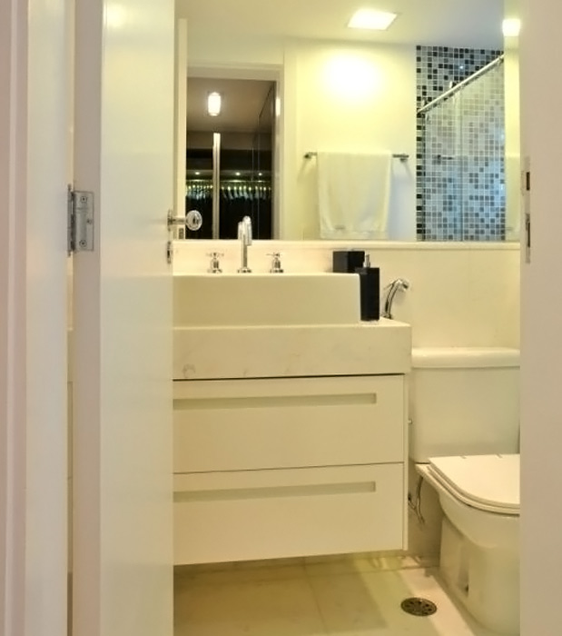 Terra # Banheiro Pequeno Projeto