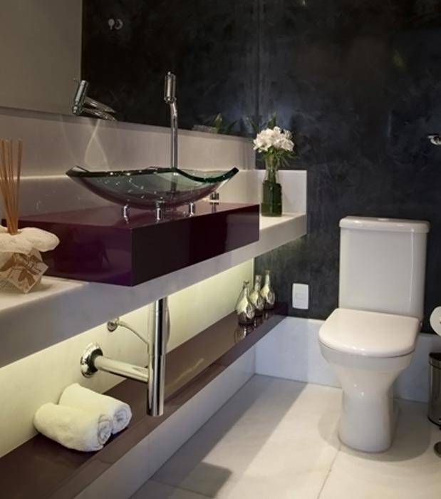 Terra -> Banheiro Pequeno Metragem