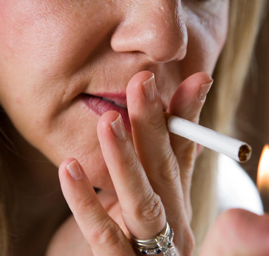 Deixar de fumar por dia