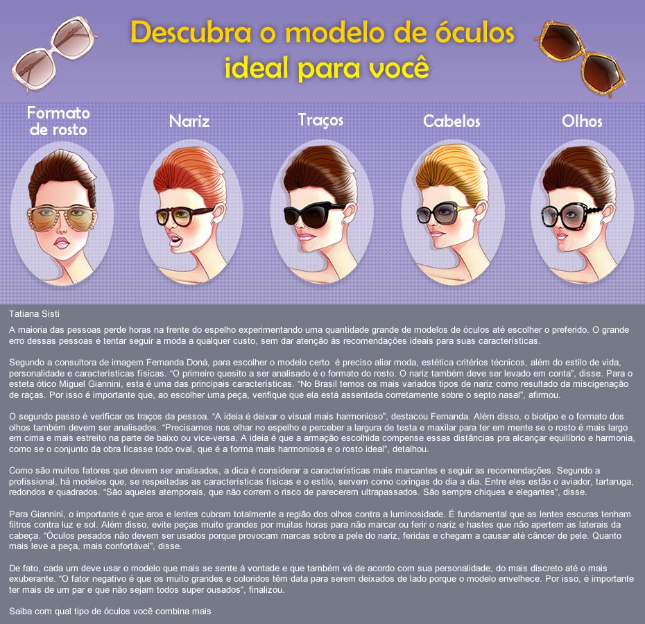 e3c8e6ddeb02c Modelos de óculos  Como escolher o óculos certo  – Terra