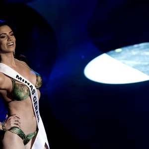 """Miss Minas Gerais é hostilizada em cerimônia: """"baleia"""""""