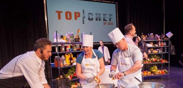 Da cozinha ao palco; reality shows invadem cruzeiros