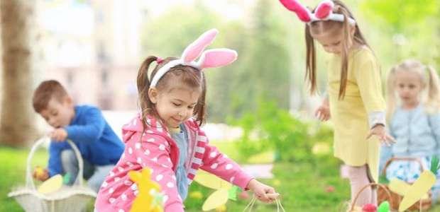 Brincadeiras de Páscoa para fazer com as crianças em casa